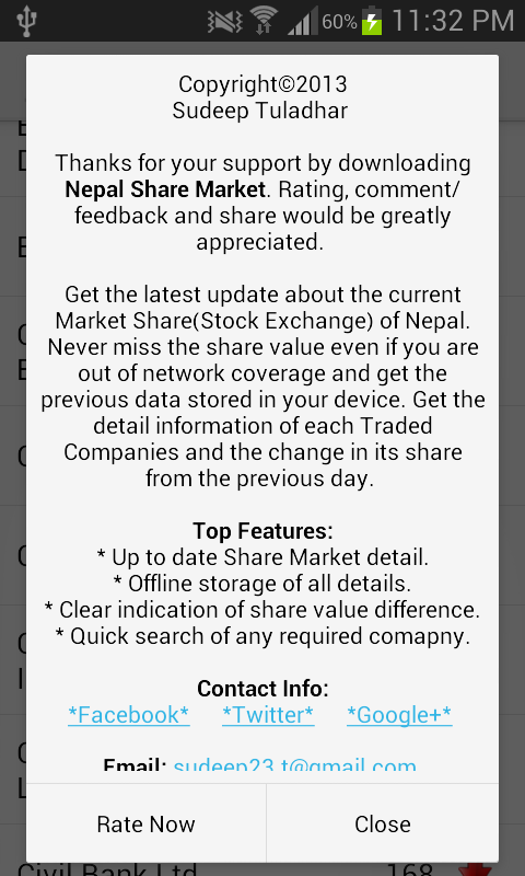 Nepal Share Market- screenshot