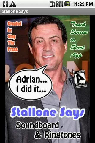 Stallone Says