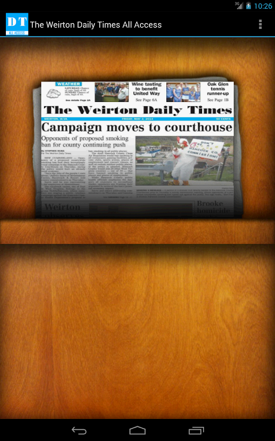 The Weirton Daily Times - screenshot