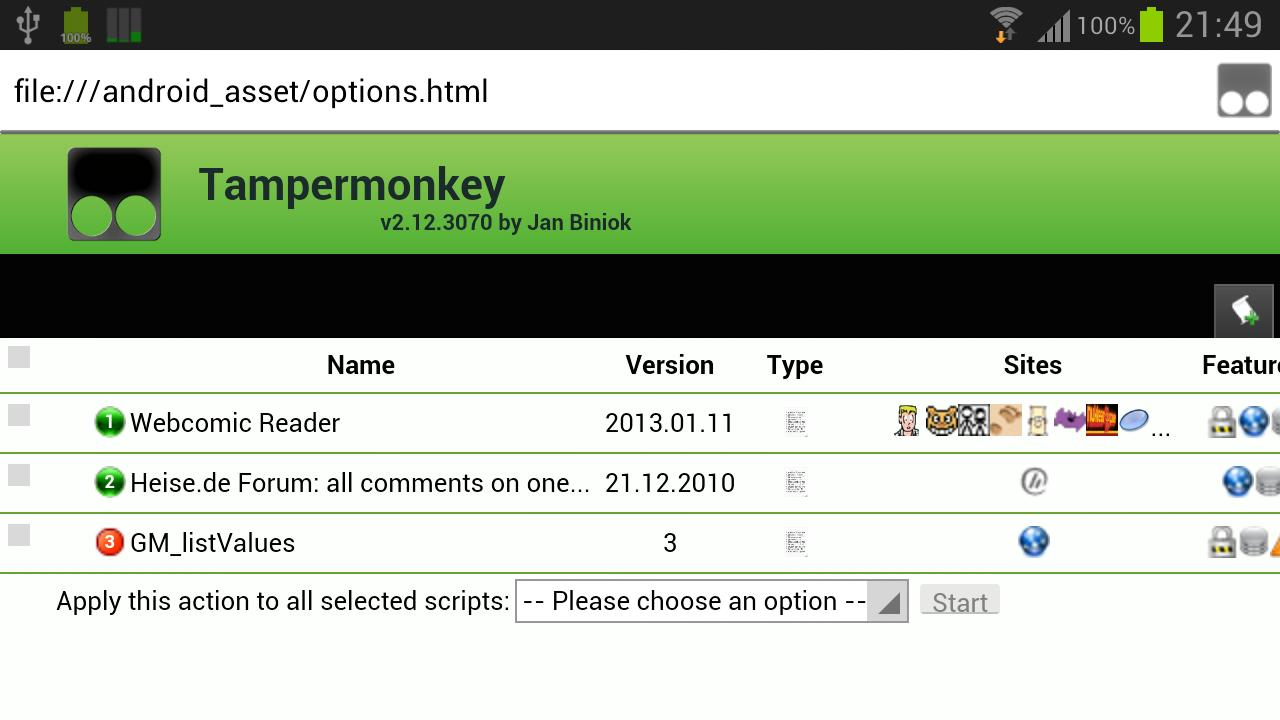 Tampermonkey- screenshot