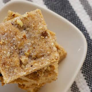 Butter Pecan Shortbread.