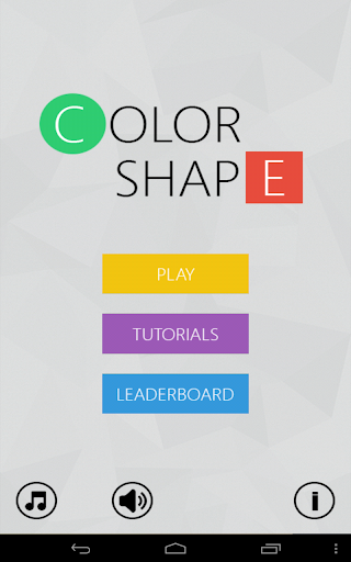 Color Shape - Connecting Game