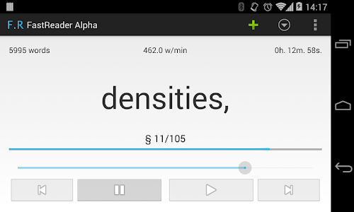 FastRead Alpha screenshot 2