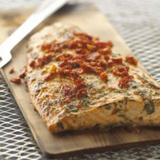 Grilled Cedar-Planked Salmon