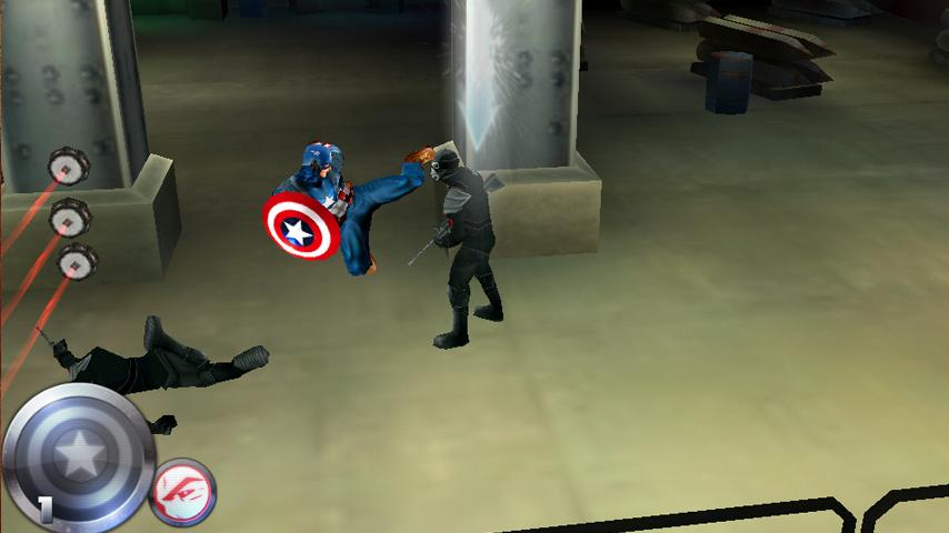 Captain America - screenshot