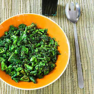 Sauteed Broccoli Rabe with Balsamic Vinegar.