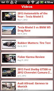 Automobile Magazine News - screenshot thumbnail