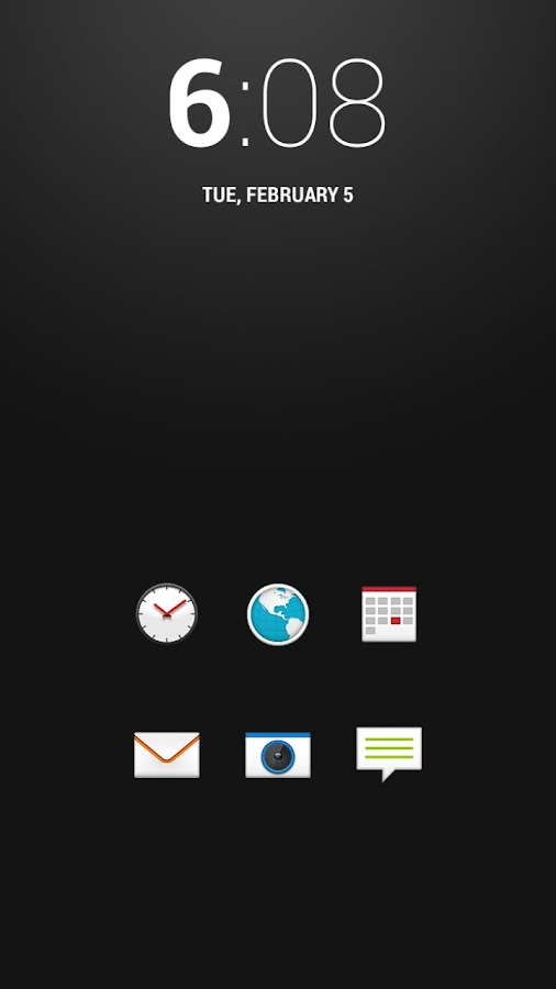 Sense 5 Theme (Icon Pack) - screenshot