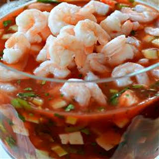 Tomato Shrimp Ceviche.