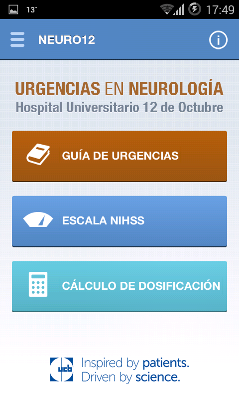 Neuro12- screenshot