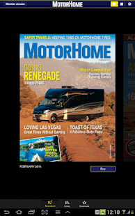 MotorHome Magazine screenshot