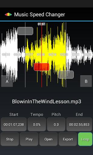 Music Speed Changer Lite