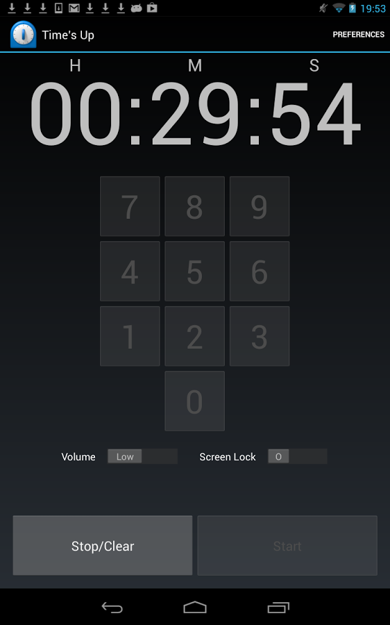Time's Up Countdown Timer- screenshot