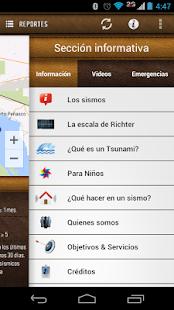 Red Sísmica Noroeste de México - screenshot thumbnail