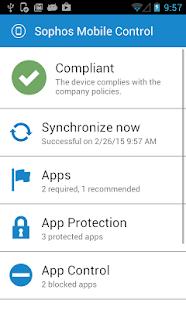 Sophos Mobile Control - screenshot thumbnail