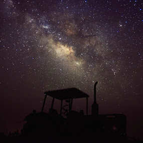 milky way by Uzair RIaz - Landscapes Starscapes (  )