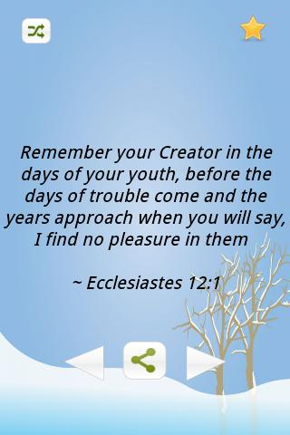 Inspiring Bible Verses-Youth- screenshot