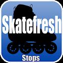 SkateFresh - Stops
