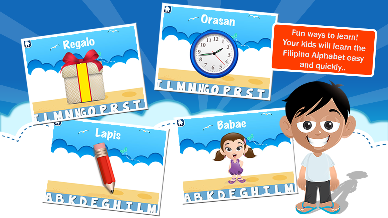 Abakada - Tagalog Alphabet - Android Apps on Google Play