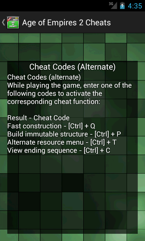 Age of Empires 2 Cheat Codes