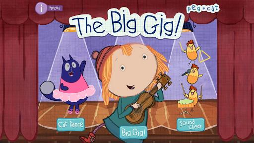 Peg + Cat Big Gig by PBS KIDS