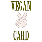 My Vegan Card