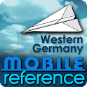Western Germany - Guide & Map icon