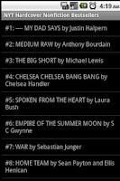 Screenshot of Books - Best Sellers