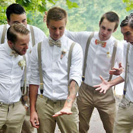 Look at that ring.. by Shelly Barlow - Wedding Groom ( groomsmen, ring, wedding ring, wedding photography, wedding day, weddings, wedding photographer, groom )