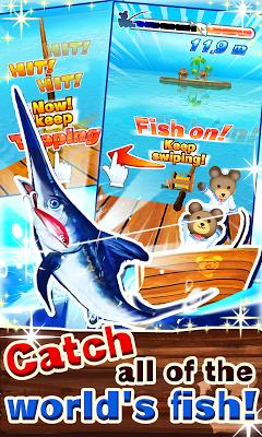 Kuma Fishing! - screenshot