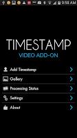 Screenshot of Video Timestamp Add-on Trial
