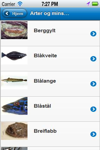 Recreational fishing in Norway - screenshot