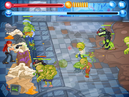 Zombie Defense - CraZ Outbreak- screenshot thumbnail