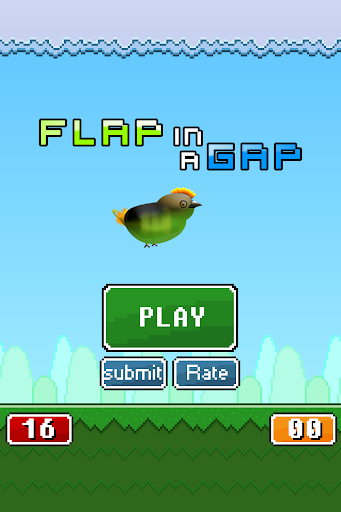 Flap in a Gap