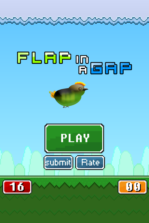 Flap in a Gap - screenshot