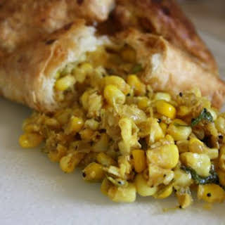 Corn Usal in Puff Pastry.