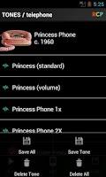 Screenshot of Telephone Rings
