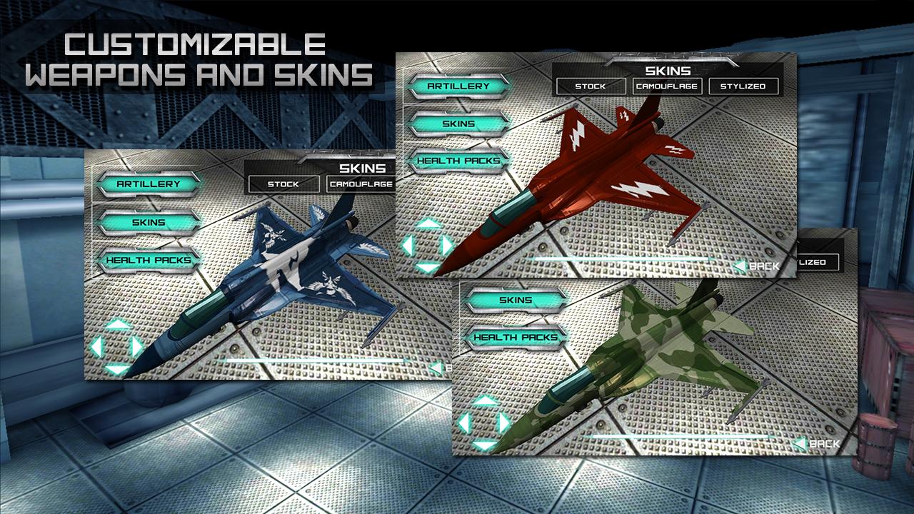Thunder Rider - Jet Flight - screenshot