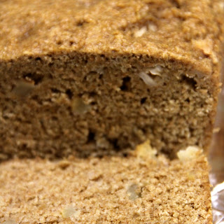 Pear and Applesauce Quick Bread