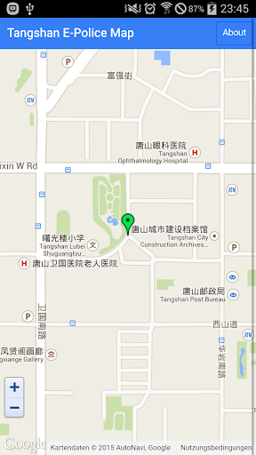 Tangshan E Police Map