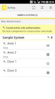 Screenshot of AirKey - Mobiles become keys!