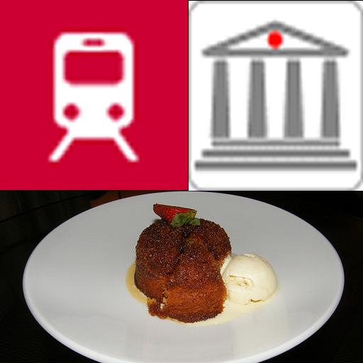 Rome Metromap+best Restaurants