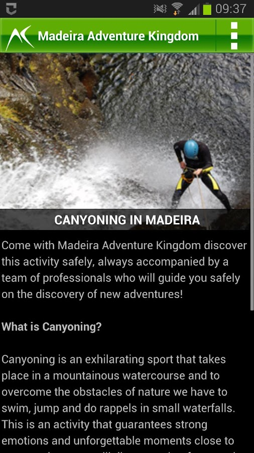 Madeira Island Activities- screenshot