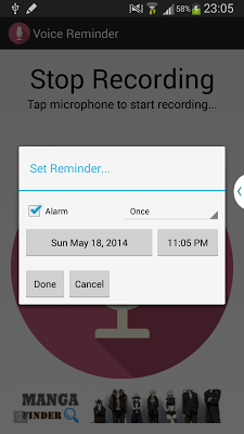 Voice Reminder - screenshot