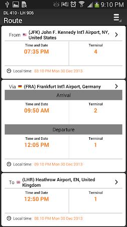 Airline Flight Status Tracking 1.7.5 screenshot 206387