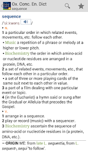 Concise Oxford English TR - screenshot thumbnail