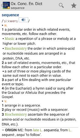 Concise Oxford English TR 4.3.136 screenshot 75443