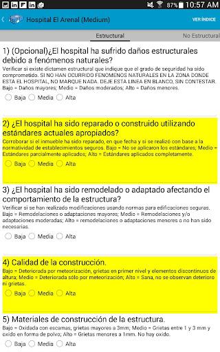 Indice seguridad hospitalaria