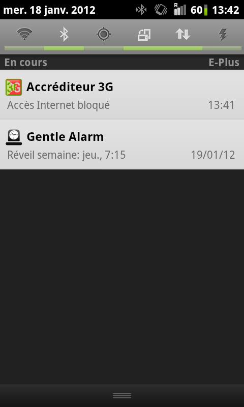 Accréditeur 3G (FreeMobile) - screenshot