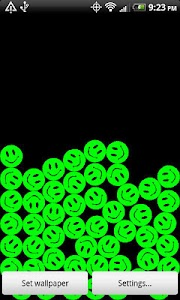 PowerSmileys Live Wallpaper screenshot 0